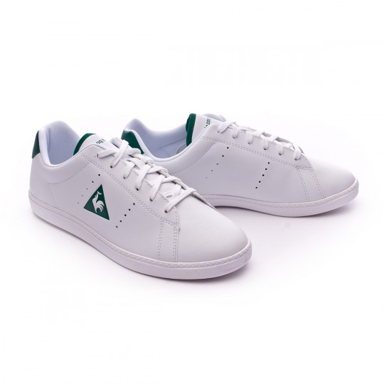 Zapatilla  Le coq sportif Courtone GS S Lea Optical white-Evergreen