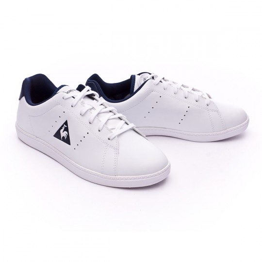 Zapatilla  Le coq sportif Courtone GS S Lea Optical white-Dress blue