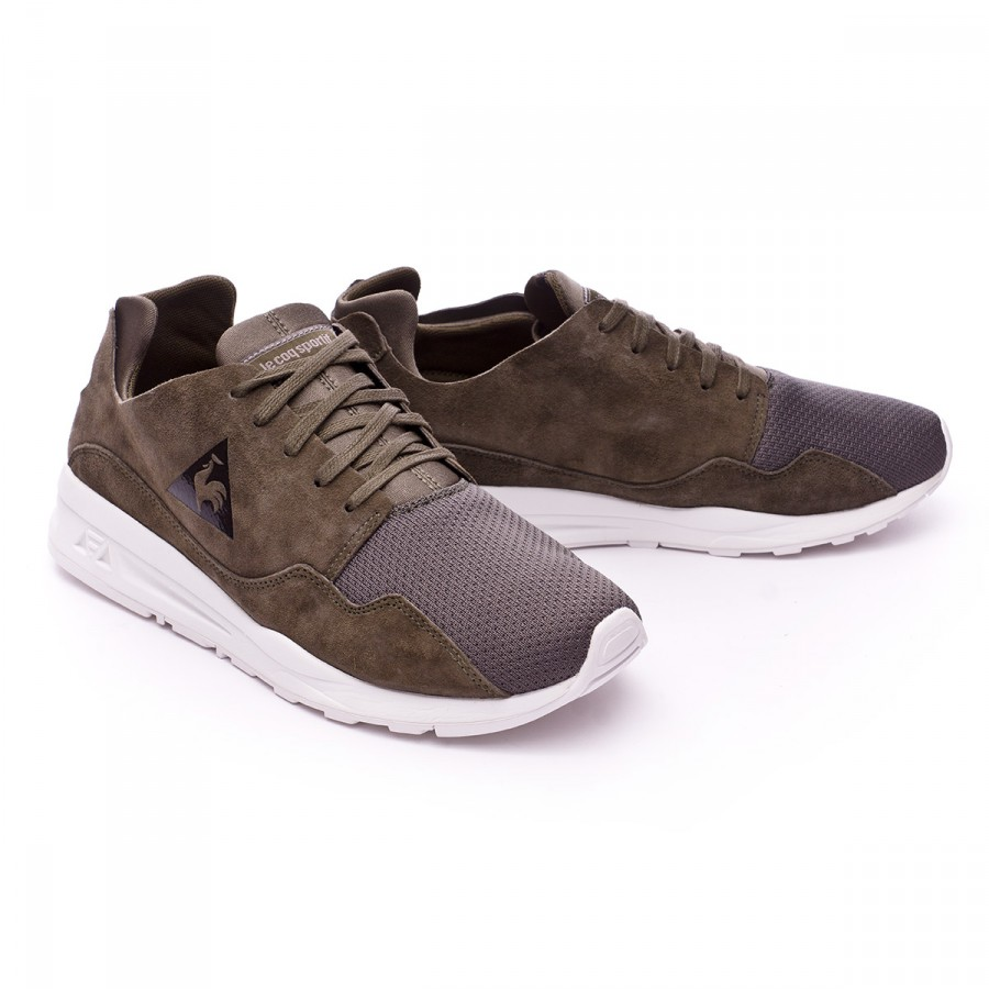 38df8fb3a8fe Baskets Le coq sportif LCS R Pure Mono Luxe Olive night - Boutique de  football Fútbol Emotion