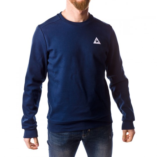 Sudadera  Le coq sportif ESS SP Crew Dress blue