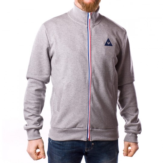 Chaqueta  Le coq sportif ESS SP FZ Light heather grey