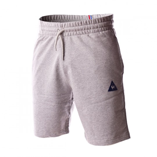 Pantalón corto  Le coq sportif ESS SP Regular Light heather grey