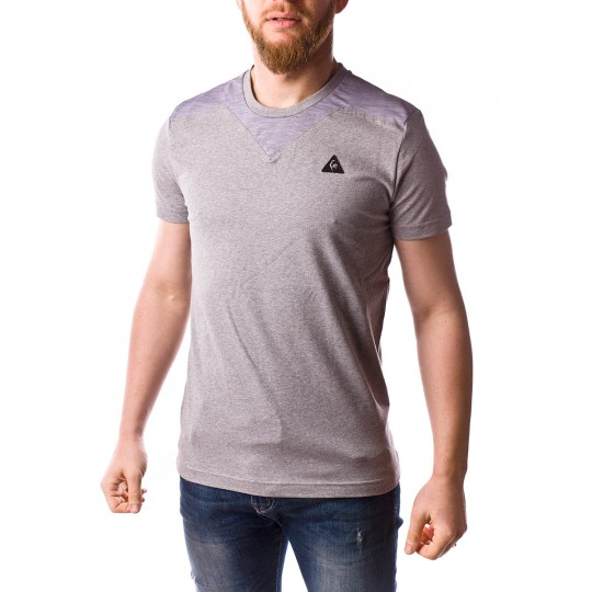 Camiseta  Le coq sportif STA SP Cottontech Light heather grey