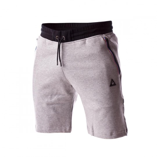 Pantalón corto  Le coq sportif STA SP Cottontech Light heather grey