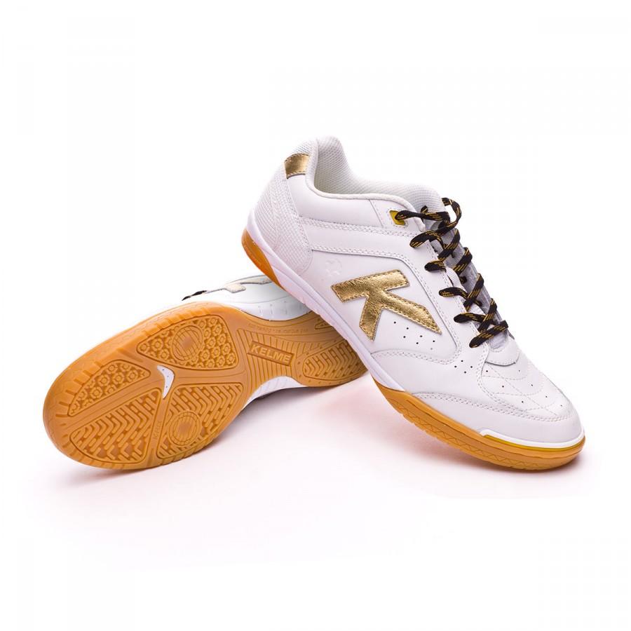 64cf1af9e Futsal Boot Kelme Precision 40th White - Football store Fútbol Emotion