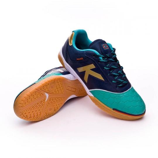 Chaussure de futsal  Kelme Feline 4.0 Bleu-Vert