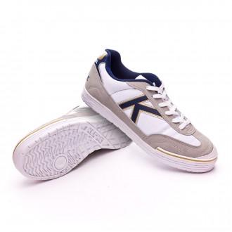 Chaussure de futsal  Kelme Trueno Sala Blanc-Bleu
