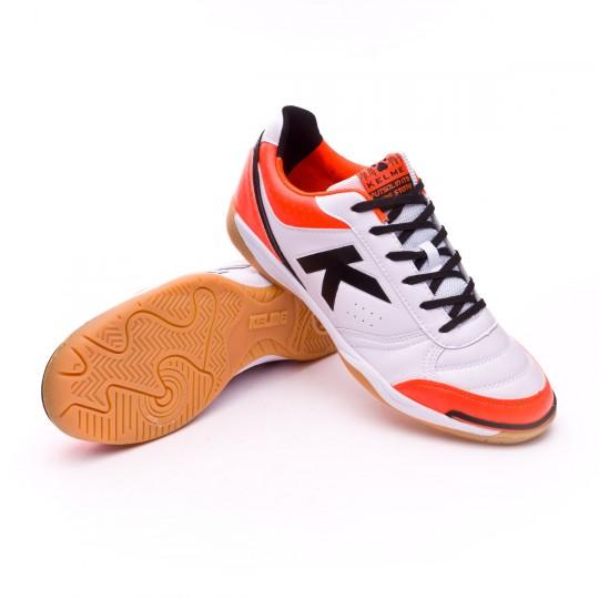 Chaussure de futsal  Kelme K-Strong 17 IN Blanc-Orange