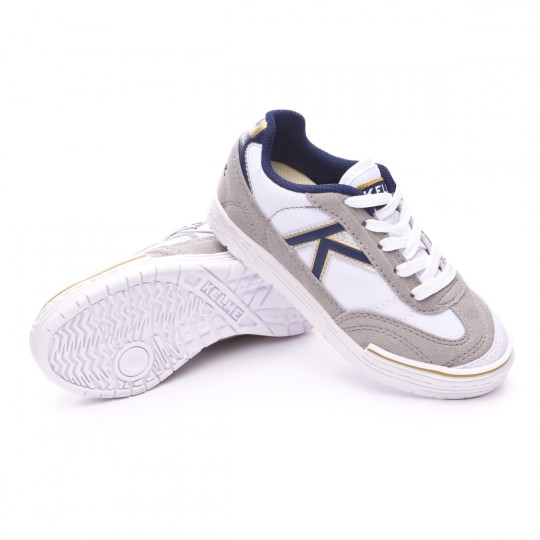 Boot  Kelme Jr Trueno Sala White-Blue