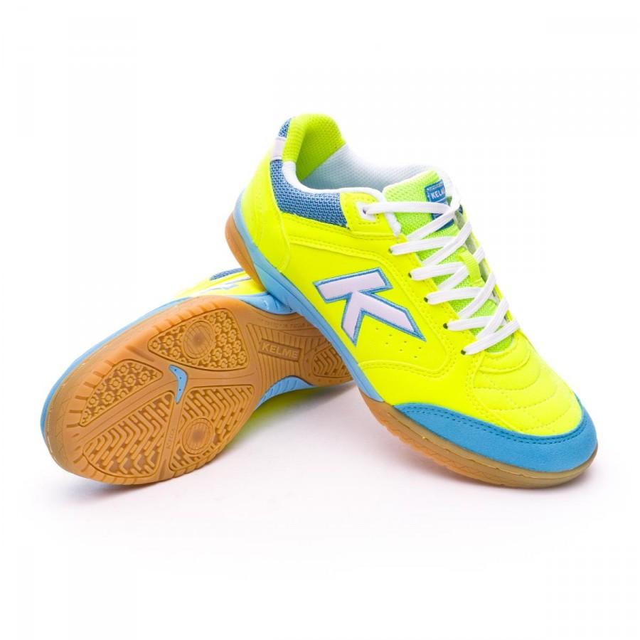 9da0ae9b9d54b Futsal Boot Kelme Precision Kids Lime - Tienda de fútbol Fútbol Emotion