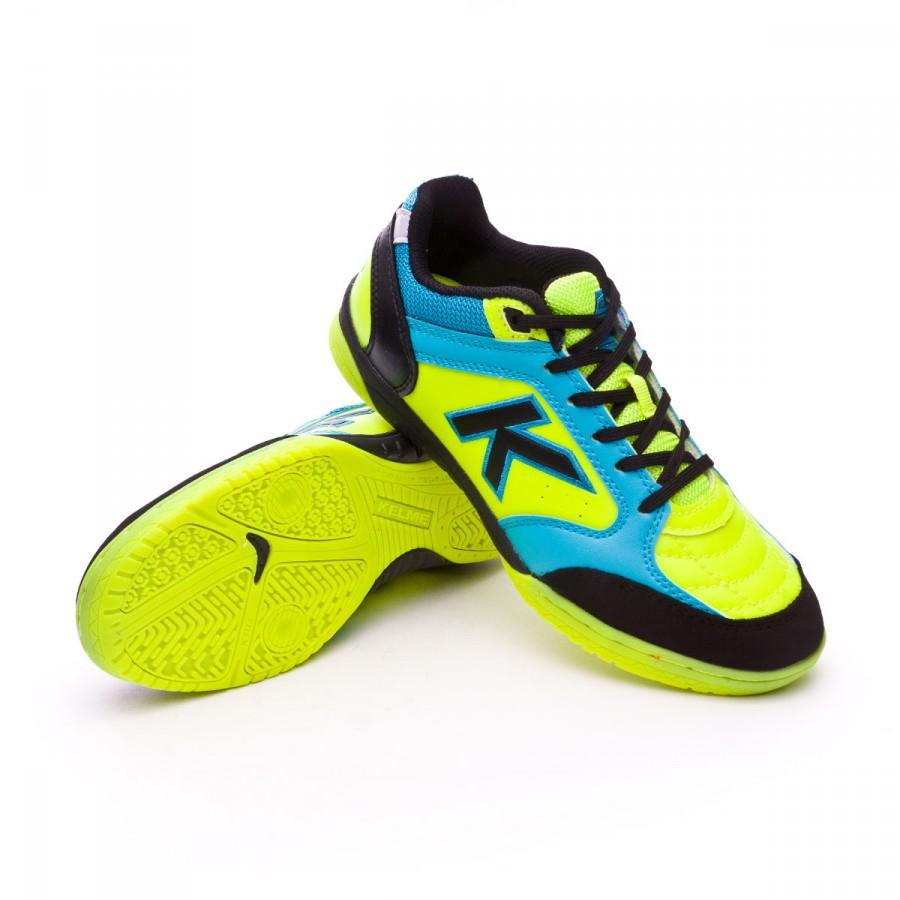 35a691afb3b Futsal Boot Kelme Kids Precision Synthetic Lime - Tienda de fútbol ...