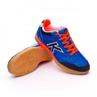 Futsal Boot  Kelme Kids Precision Synthetic  Electric Blue