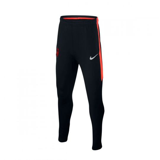 Pantalon  Nike Dry Neymar Jr Black-Black-Max orange-Metallic silver