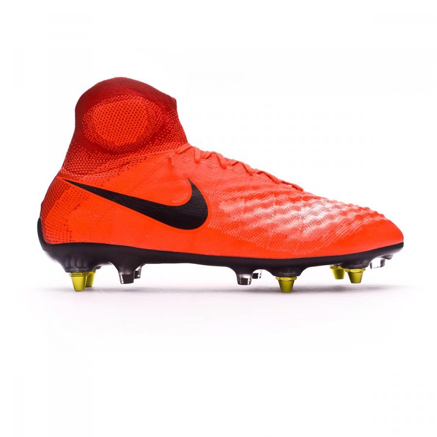 5e6a529eeb39 Zapatos de fútbol Nike Magista Obra II ACC SG-Pro Anti-Clog Total crimson- Black-University red - Tienda de fútbol Fútbol Emotion