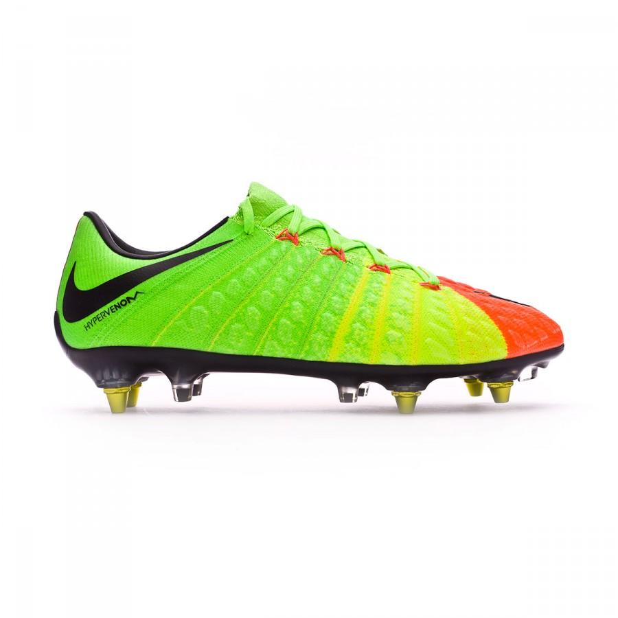 f74df2a4b00 Football Boots Nike Hypervenom Phantom III ACC SG-Pro Anti-Clog Electric  green-Black-Hyper orange-Volt - Tienda de fútbol Fútbol Emotion