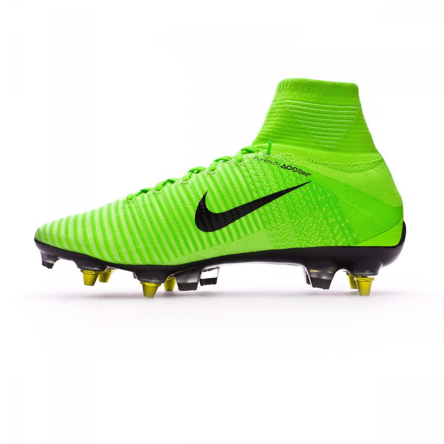 2d8cdf736 Football Boots Nike Mercurial Superfly V ACC SG-Pro Anti-Clog Electric green-Black-Ghost  green-White - Football store Fútbol Emotion