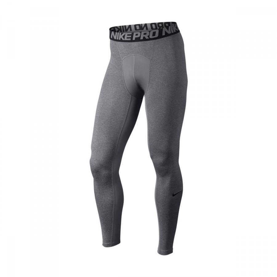 Malla Nike Pro Tight Carbon heather-Black - Tienda de Fútbol. Soloporteros  es ahora Fútbol Emotion