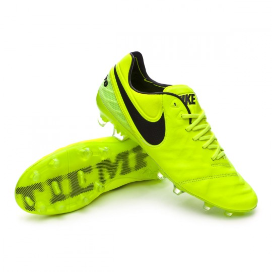 Bota  Nike Tiempo Legend VI ACC FG Volt-Black-Volt