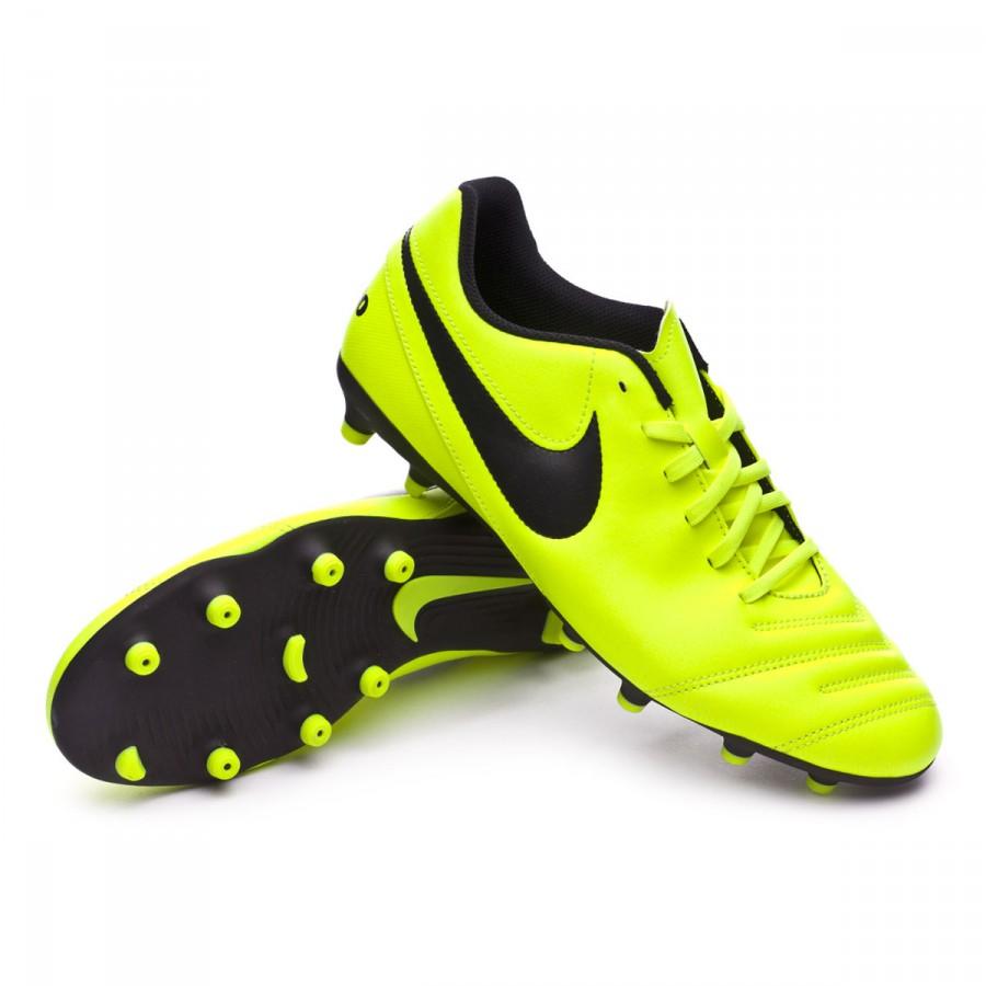 af5d4a7a4cd1 Football Boots Nike Tiempo Rio III FG Volt-Black-Volt - Football ...