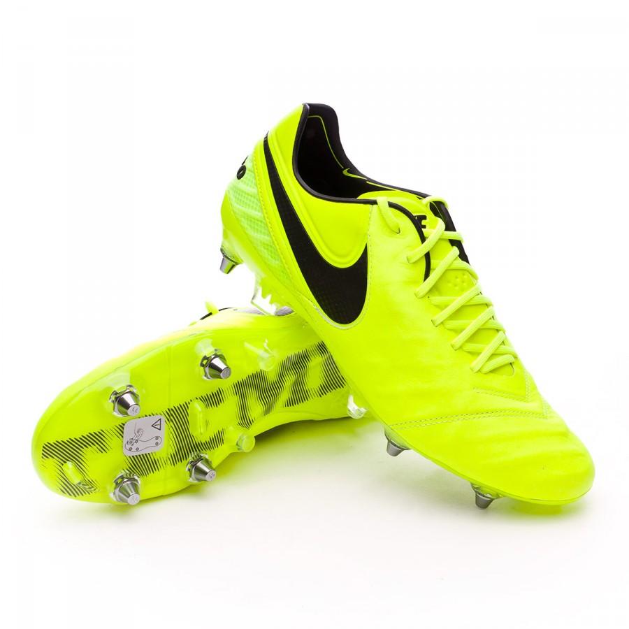 95ba5442f736e Football Boots Nike Tiempo Legend VI ACC SG-Pro Volt-Black-Volt ...