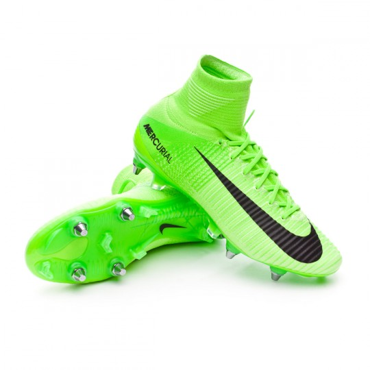 Boot  Nike Mercurial Superfly V ACC SG-Pro Electric green-Black-Ghost green-White
