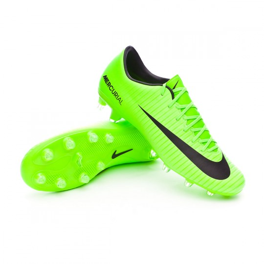 Chuteira  Nike Mercurial Victory VI AG-Pro Electric green-Black-Flash lime-White