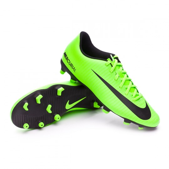Boot Nike Mercurial Vortex III FG Electric green-Black-Flash lime-White -  Football store Fútbol Emotion 637bd90030