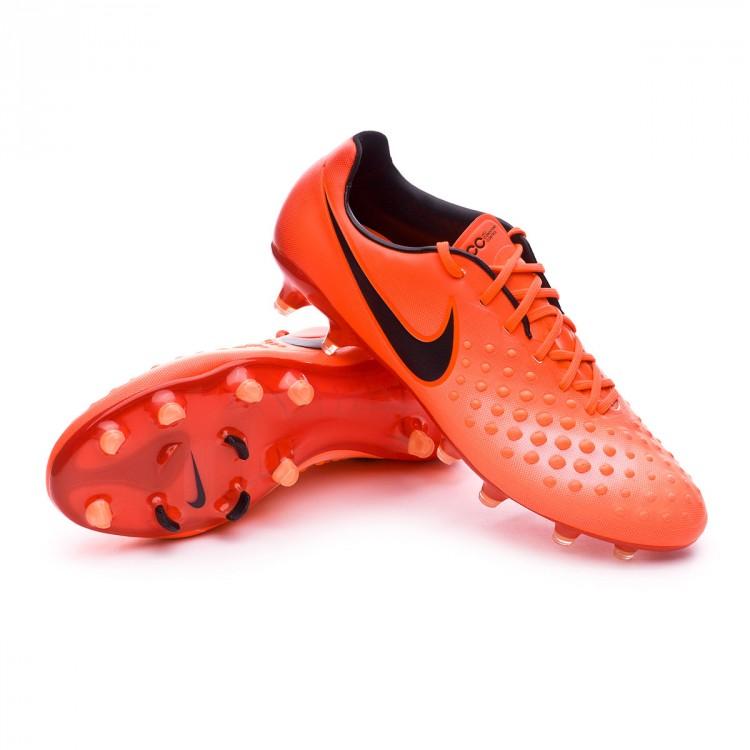 half off 2c416 a84fb Chaussure de foot Nike Magista Opus II FG Total crimson-Black ...
