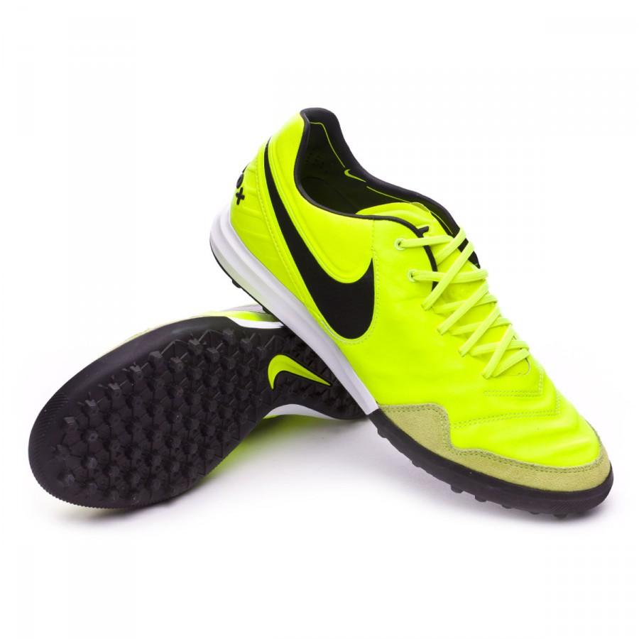 97de427a64f Nike TiempoX Proximo Turf Football Boot. Volt-Black-Volt-White ...