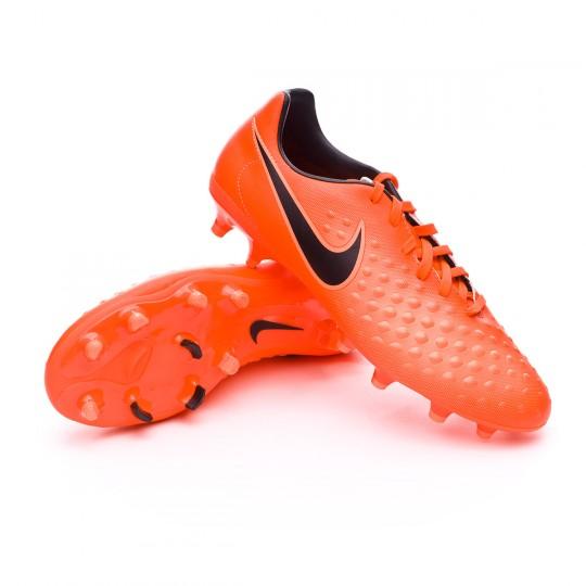 Chaussure  Nike Magista Onda II FG Total crimson-Black-Bright mango