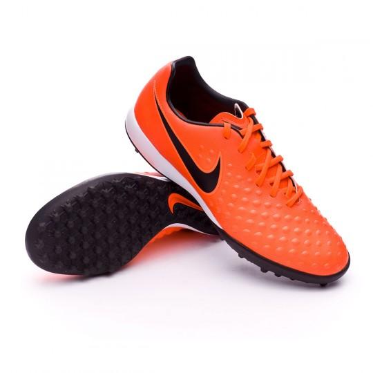 Chaussure de futsal  Nike MagistaX Onda II Turf Total crimson-Black-Bright mango