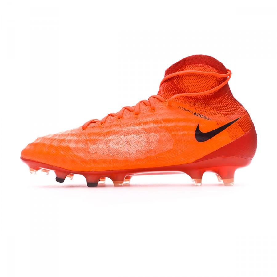 8279564de89c Football Boots Nike Magista Obra II ACC FG Total crimson-Black-University  red - Football store Fútbol Emotion
