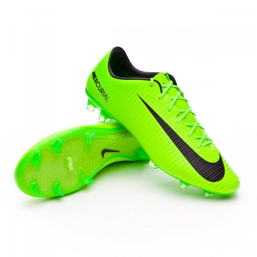 Boot Nike Mercurial Veloce III FG Electric green-Black-Flash lime ... bdc69b7ea
