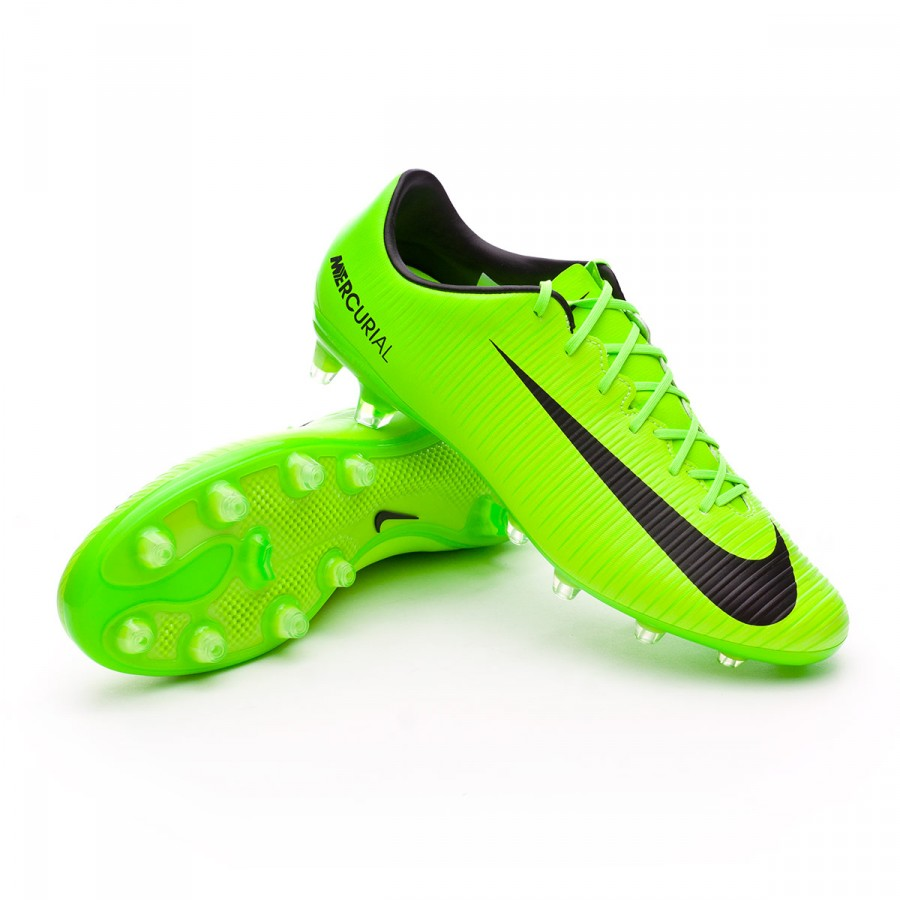 1d3e7a304e7cb Football Boots Nike Mercurial Veloce III AG-Pro Electric green-Black ...