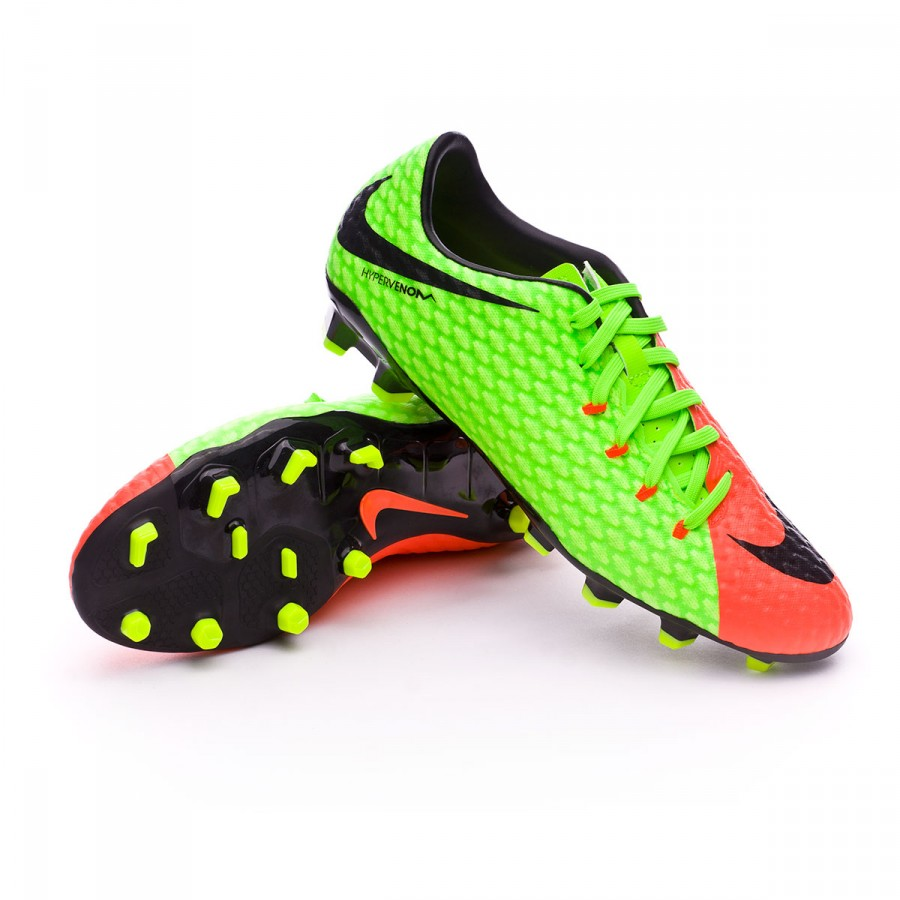 Hypervenom Volt Green Black Iii Electric Bota Phelon Hyper Fg Orange reCxBodW