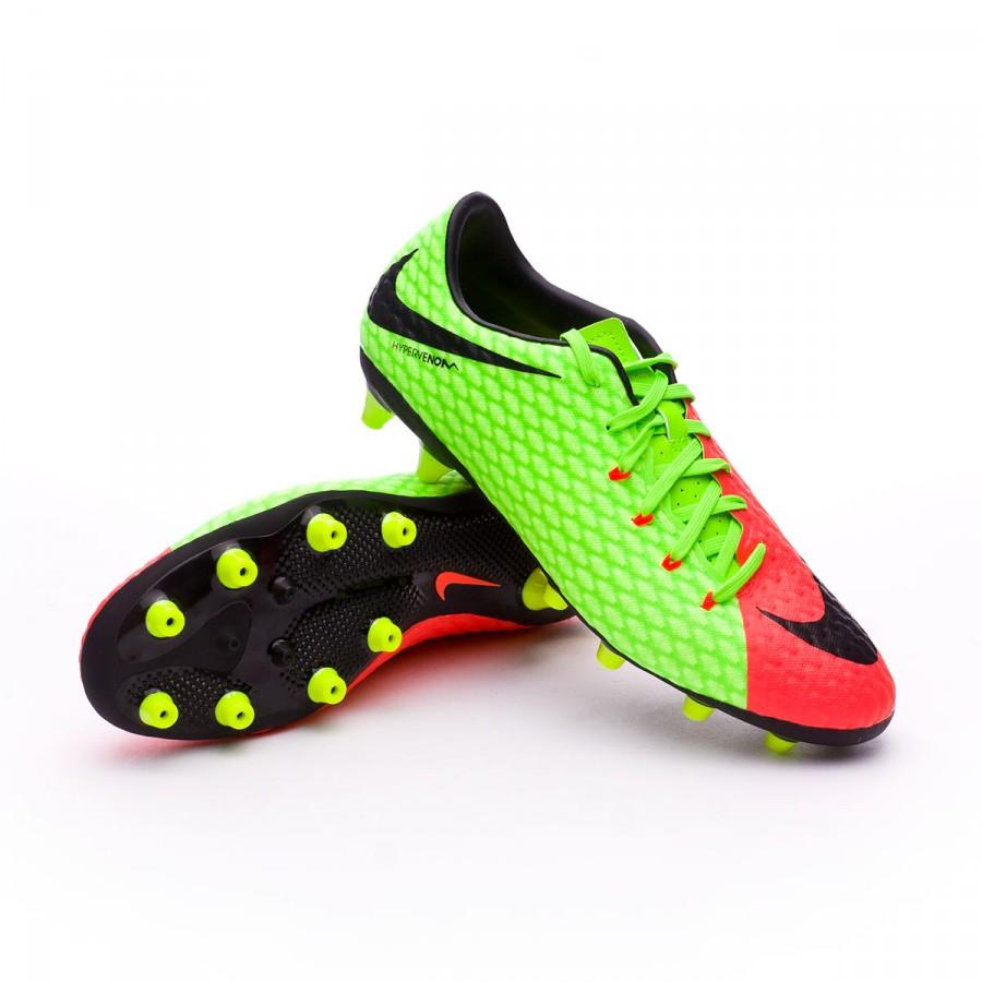 6b0c29b3 Football Boots Nike Hypervenom Phelon III AG-Pro Electric green ...