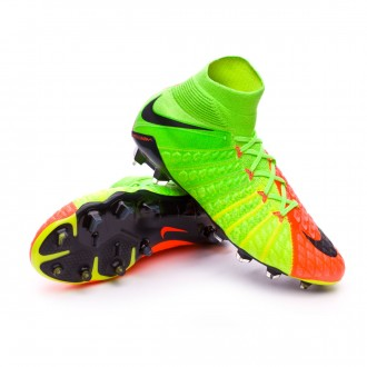 Hypervenom Phantom III ACC DF FG Electric green-Black-Hyper orange-Volt