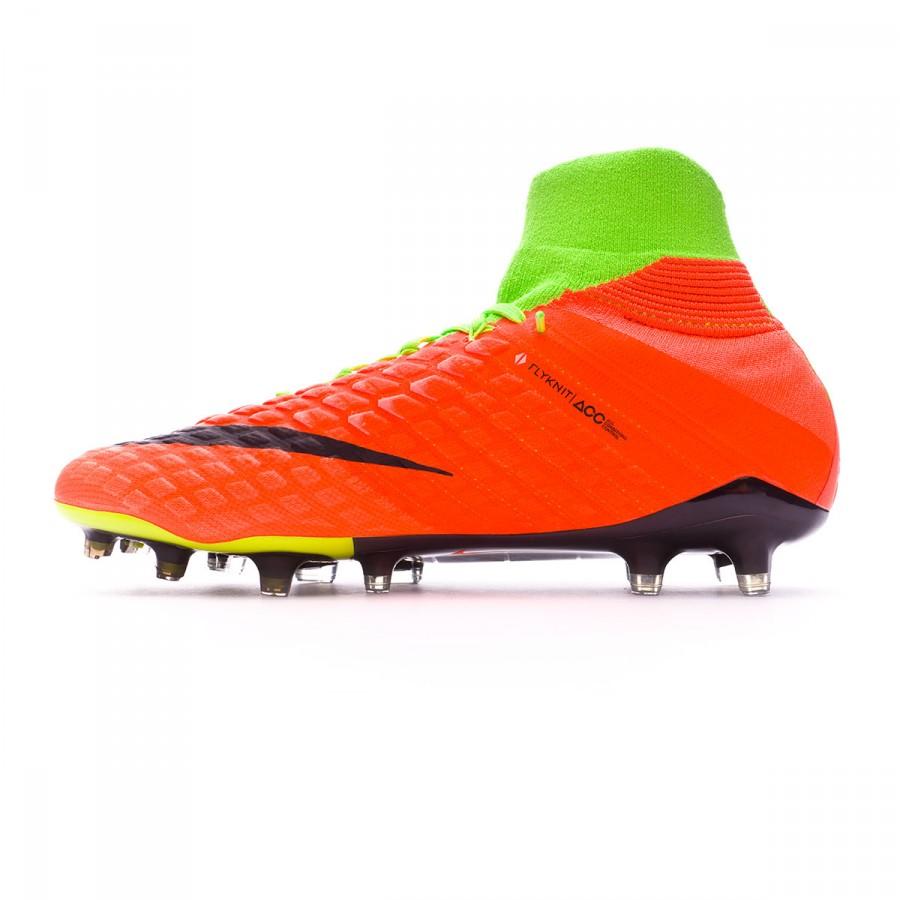 570188d64 Football Boots Nike Hypervenom Phantom III ACC DF FG Electric green-Black-Hyper  orange-Volt - Tienda de fútbol Fútbol Emotion