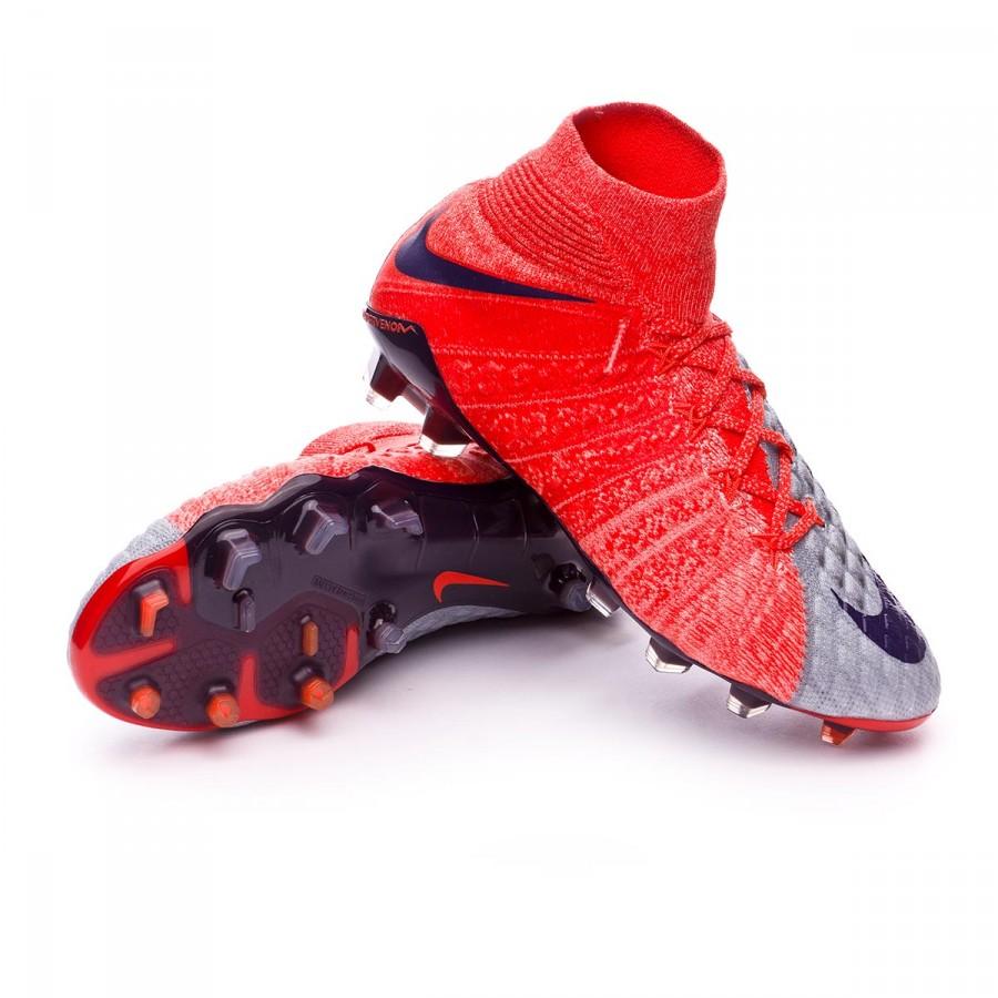 8bf45bfe5 Football Boots Nike Hypervenom Phantom III DF ACC FG Women Wolf grey ...