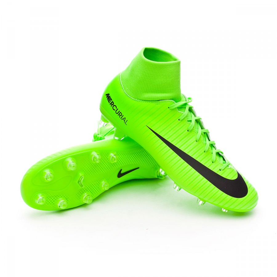 Chuteira Nike Mercurial Victory VI DF AG-Pro Electric green-Black ... 9aa9a59d0f2b7