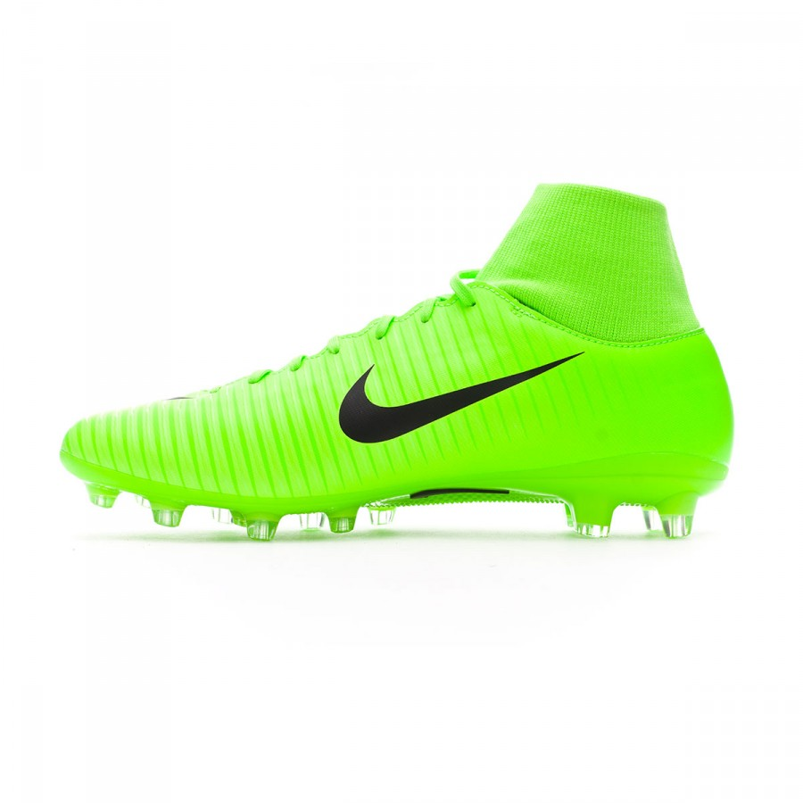 Bota de fútbol Nike Mercurial Victory VI DF AG-Pro Electric  green-Black-Flash lime-White - Soloporteros es ahora Fútbol Emotion 7b03fc494e109