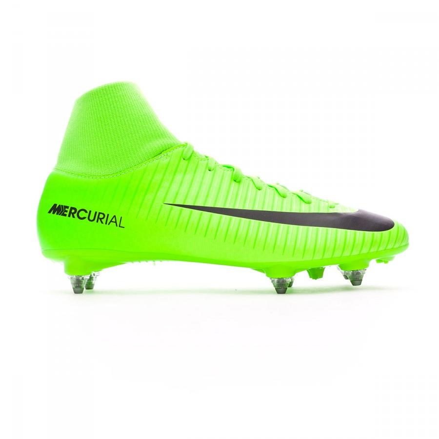 19e43230a Football Boots Nike Mercurial Victory VI DF SG Electric green-Black-Flash  lime-White - Tienda de fútbol Fútbol Emotion