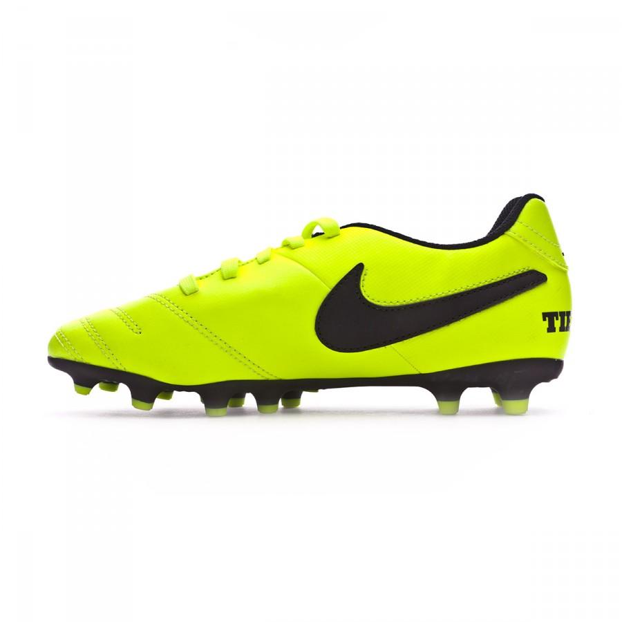 c954d4862199f Zapatos de fútbol Nike Tiempo Rio III FG Niño Volt-Black-Volt - Tienda de  fútbol Fútbol Emotion
