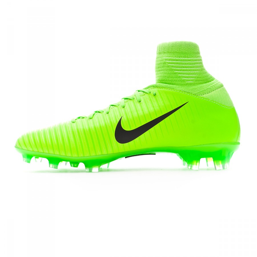 ae49f74f90f7 Football Boots Nike Jr Mercurial Superfly V FG Electric green-Black-Flash  lime-White - Football store Fútbol Emotion
