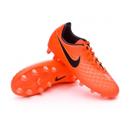 Chuteira  Nike Jr Magista Opus II AG-Pro Total crimson-Black-Bright mango
