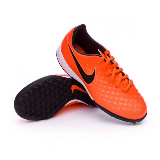 Zapatilla de fútbol sala  Nike jr MagistaX Opus II Turf Total crimson-Black-Bright mango