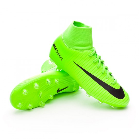 Chaussure  Nike jr Mercurial Victory VI DF AG-PRO Electric green-Black-Flash lime-White
