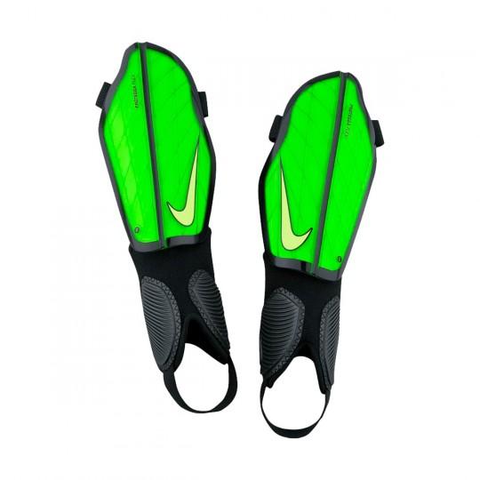 Caneleira  Nike Protegga Flex Electric green-Black-Volt