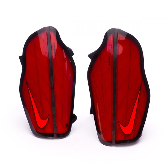 Espinillera  Nike Protegga Flex University red-Black-Total crimson