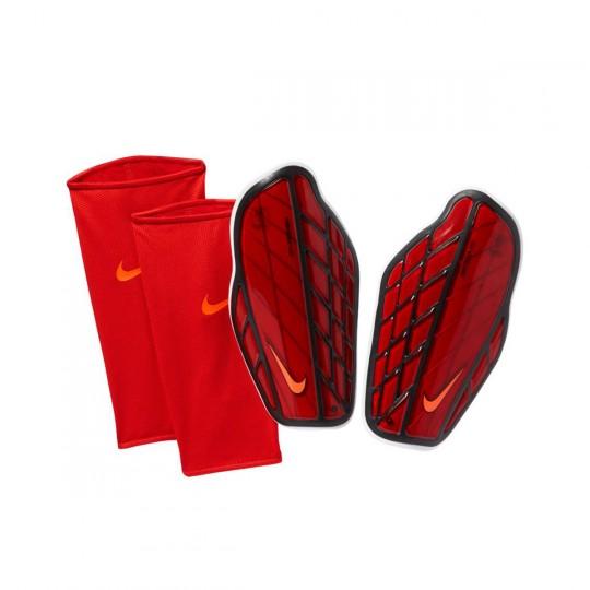 Protège tibia  Nike Protegga Pro Univresity red-Black-Total crimson